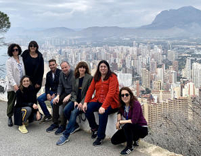 "Benidorm shows its ""charms"" to audiovisual producers from all over the country"