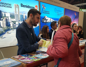 "Benidorm participates in the ""Salon des Vacances"" in search of the Belgian tourist"